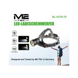 Akku LED Kopflampe BL-V27B-T6