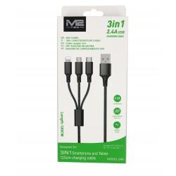 3in1 Kabel Nylon