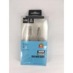 1m Metal Type-C 2400mAh USB...