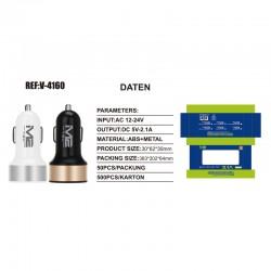 KFZ 2xUSB Adapter Ref:V-4160